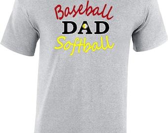 Baseball Dad Shirt, Baseball Tee, Baseball Dad Tee, Baseball Dad T-shirt, Baseball Dad Shirt, Softball Dad Tee, Softball Dad Shirt