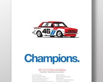 Datsun 510 Print
