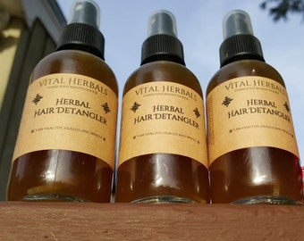 herbal hair detangler, hair softener