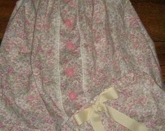 Handmade flutter sleeve dress.