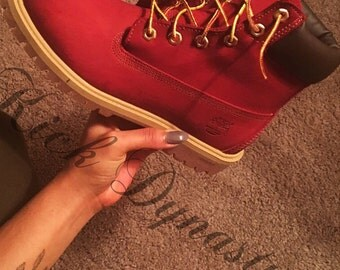 Custom Dyed Timberland Boots All Colors