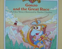 Muppet Babies - Gonzo and the great Race - Children's Illustrated Story Book featuring Jim Henson's Muppets