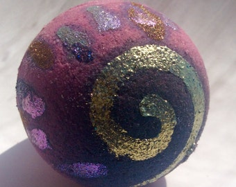 Galaxy bombs! Bath bomb with hemp seed oil