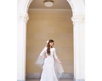 Wedding dress belt - thin bridal belt - thin bridal sash - crystal bridal belt - bridal belt - bridal dress belt -  bridal sashes and belts