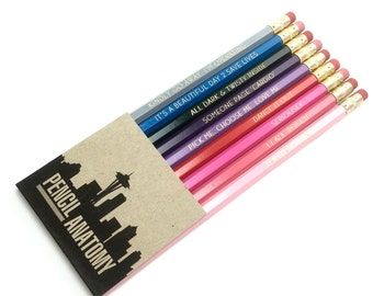 "Last chance!! GREY'S ANATOMY inspired pencil set - ""Pencil Anatomy"" - final 4 sets!!"