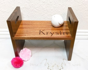 Personalized Heirloom Kids Stool, Childs Stool, Childrens Stool, Childs Chair, Childs Desk Chair, Kids Gift, Gift for Girl, Gift for Boy