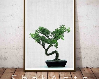 Tropical Leaf Print, green leaf plants digital prints, Tropical  decor, green leaves, plants wall decor, tropical wall art, plant art