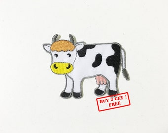 The Cow Iron on Patch