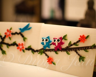 Greeting Cards - Quilling