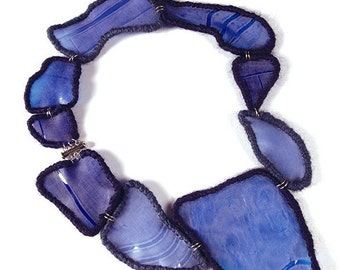 "Aquamadre collection necklace ""Blue"" (Homi Milano 2015)"