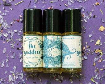 The Goddess Perfume Oil - Vegan Perfume - Organic Perfume