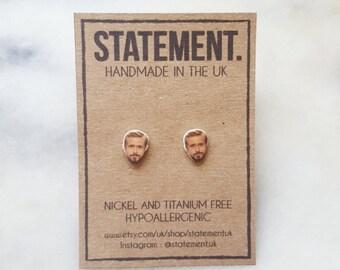 Ryan Gosling Actor Stud Earrings - 1 pair