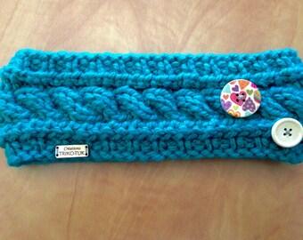 "LIQUIDATION headband child knit, 100% acrylic, model ""Anna"""
