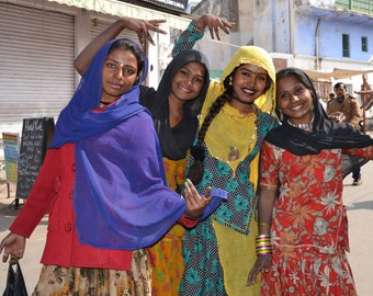 Local Women in Pushkar, Rajasthan, India