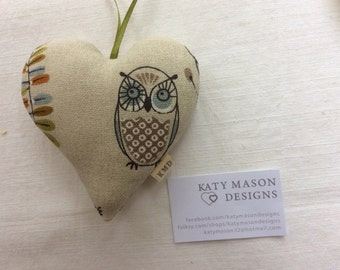 Owl Hanging Heart