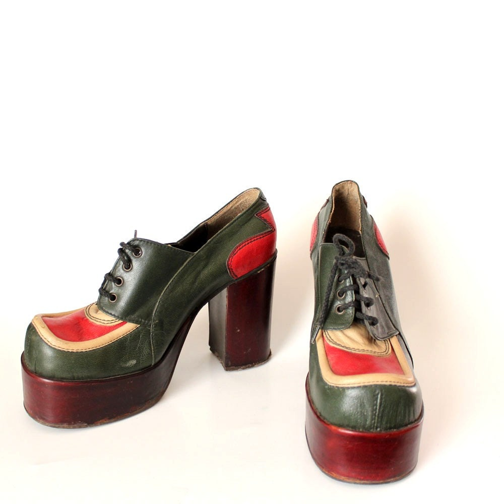 1970s platform shoes eldita s shoes made in italy glam