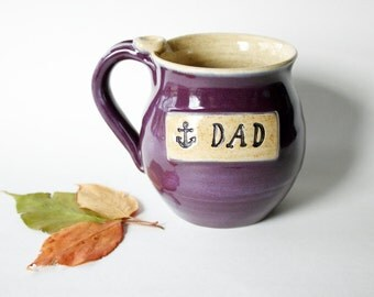 Engraved Mug for Dad, ready to mail, Dad Coffee Cup, for the fisherman