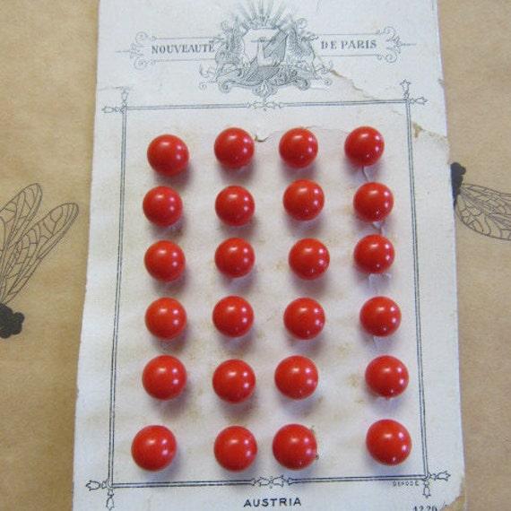 24 antique french nouveaute de paris vintage 1920s sewing for Paris orange card