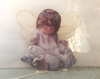 Angel Ornament - Loving Kindness By Donna Brooks - Heaven's Little Angels Ornaments - Guardian Angel - Porcelain Angel - Hanging Figurines