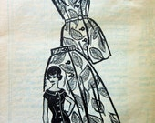 Vintage Anne Adams 4697 Sewing Pattern, Playsuit Pattern, Bust 38, Skirt Pattern, Mail Order Pattern, Romper Pattern, 1960s Sewing Pattern