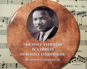injustice black people and martin luther Martin luther king jr began to think that black americans could use gandhi's  it was the crime of joining my people in a nonviolent protest against injustice.