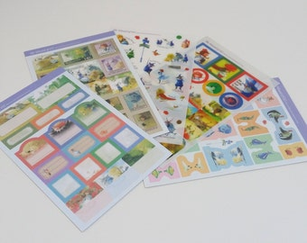Wizard of Oz Sticker Pack Five Sheets
