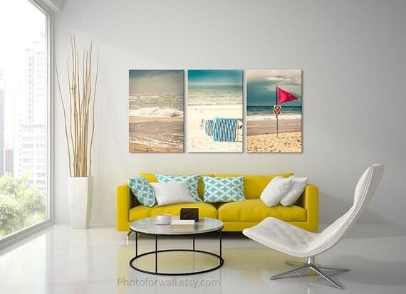Beach Wall Decor For Bedroom : Beach photography bedroom decor large canvas art wall