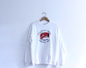 Maine Lobster Souvenir Sweatshirt