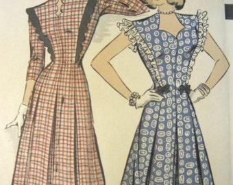 No. 1938 Hollywood Pattern, Dress Pattern Size 12, Vintage Patterns, Vintage Ephemera, Patterns for Sewing, Paper Ephemera