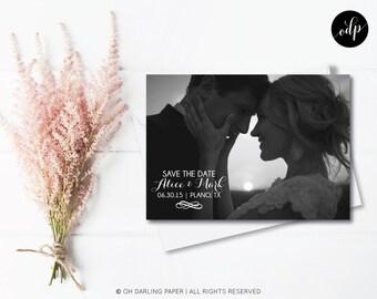 Printable Save the Date Postcard. Calendar postcard. Calendar save the date.