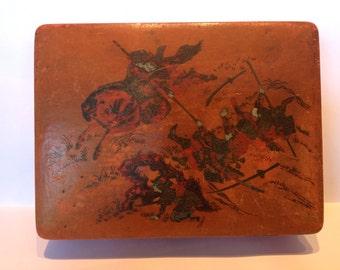 Japanese Lacquerware Calligraphy Box. C1930-40