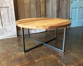 Round coffee table Etsy