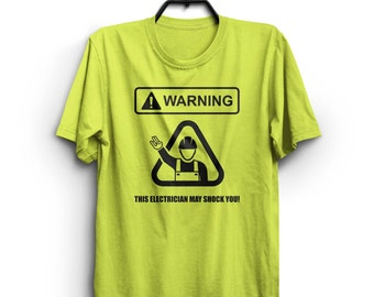 WARNING! This electrician may shock you!