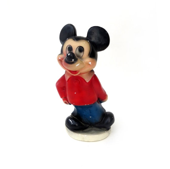 Huge Chalkware Mickey Mouse Bank 11 5 Tall Vintage Figural