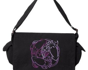 FantastiCute - Cthulhus Embroidered Canvas Cotton Messenger Bag