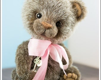 OOAK teddy bear Balu