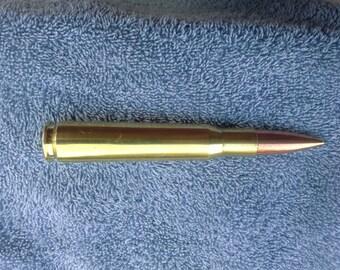 Bullet pen 50 caliber rifle cartridge pen...... refillable with a cross type pen....Free Shipping to USA