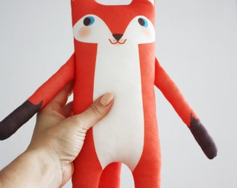 MR. FOX organic cotton animal doll