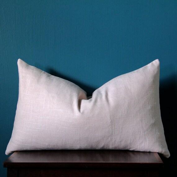 Blush Pink Pillow Cover Pink Lumbar Pillow Cover Rose