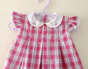 Vintage Carters Baby Dress - 3-6 Months