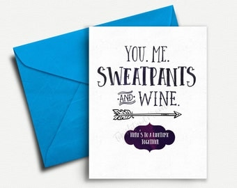 Funny Anniversary Card, Card for Boyfriend, Best Friend Brithday, Card for Best Friend, Card for Girlfriend, Card for Fiance, Groom