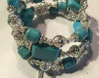 Turquoise an Silver Bracelet