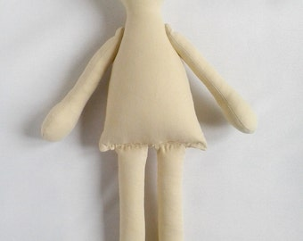 "Doll Body 14"" (34sm) doll blank body cloth doll rag doll"