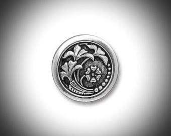 Silver Scottish Thistle Mens Lapel Pin Outlander Jewelry Groomsmen Gift Unisex Bridal Celtic Jewelry Tie Tack