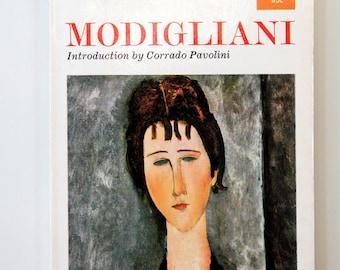 Modern art vintage print booklet / art of Modigliani / modern portrait art prints / home decor fine art bookplate prints / portrait prints