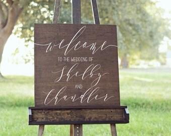 Welcome Sign Wedding, Welcome Wedding sign , Welcome to our wedding sign, Wooden Welcome Sign, Welcome sign for wedding, Wood Welcome Sign