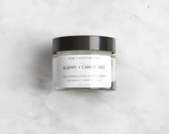 Anti-Wrinkle & Lifting Cream // Anti-Aging Cream // Organic Moisturizer // Natural Skincare // Wrinkle Repair Cream // Best Wrinkle Cream