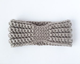 CROCHET PATTERN: Violet Headband - crochet headband pattern, crochet head warmer, crochet ear warmer (baby, toddler, child, adult sizes)