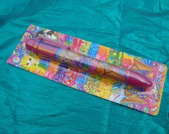 Lisa Frank 6 Color Pen Writing Pen Color Changing Pen Lisa Frank
