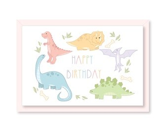 Happy Birthday Dinosaurs
